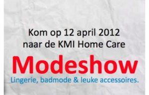 Modeshow 12 april 2012