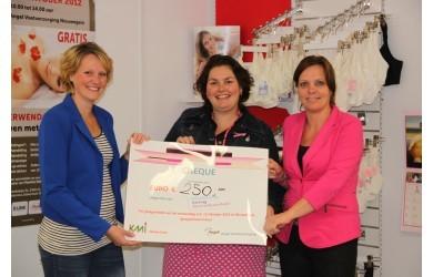Cheque voor jong borstkanker
