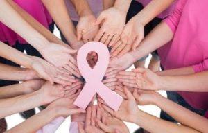 Pink Ribbon handen